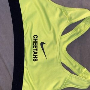 Cheetah sports bra from worlds 2016 & bow